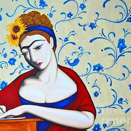 Jane a la Frida by Rebecca Mott