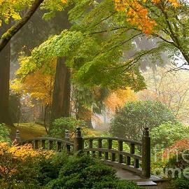 Debra Orlean - Japanese Garden Scene