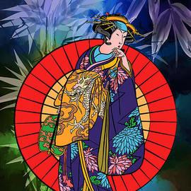 Andrzej Szczerski - Japanese woman