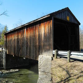 Jediah Hill Covered Bridge 2 by Kathy Barney