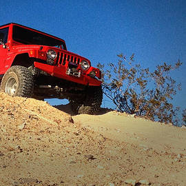 Jeepin' the Mojave by Bill Swartwout Photography