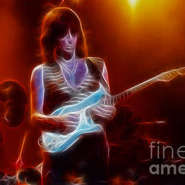 Gary Gingrich Galleries - Jeff Beck-95-GA29-Fractal