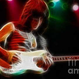 Gary Gingrich Galleries - Jeff Beck-95-GA34-Fractal