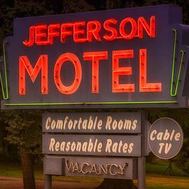 Jefferson Motel Sign by Larry Helms