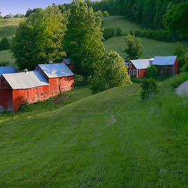 Jenne Farm in Reading Vermont by Nancy Griswold