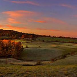 Jenne Farm Vermont Panoramic by Joann Vitali