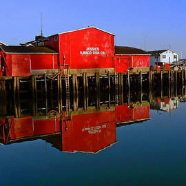 Jessies Ilwaco Fish Company by Pamela Patch