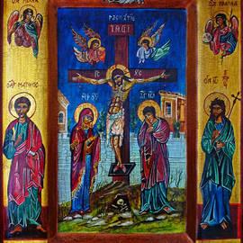 Ryszard Sleczka - Jesus Christ Crucifixion Icon