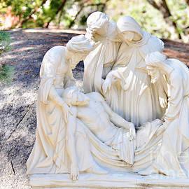 Jesus is Taken Down from the Cross by Debby Pueschel