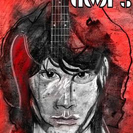 Jim Morrison - The Doors by Carol Cavalaris