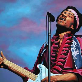 Jimi Hendrix 2 by Paul Meijering