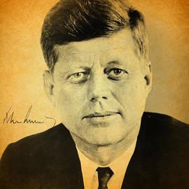 Design Turnpike - John F Kennedy Portrait and Signature