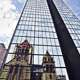 John Hancock Trinity Church Reflection by Marcia Colelli
