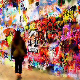 John Lennon Wall 5 by Phil Robinson