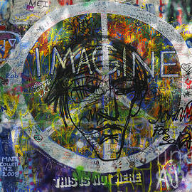Brenda Kean - John Lennon Wall