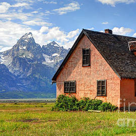 Gary Whitton - John Moulton Home Grand Teton National Park