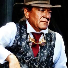 Steve Taylor - John Wayne in a silk waistcoat