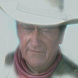 John Wayne by Randy Follis