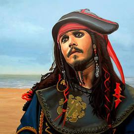 Paul Meijering - Johnny Depp as Jack Sparrow