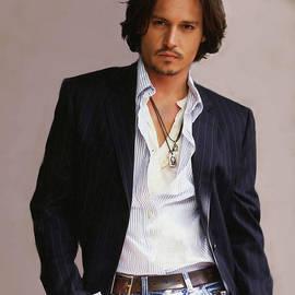 Johnny Depp by Dominique Amendola