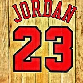 Jordan 23 Poster by Florian Rodarte