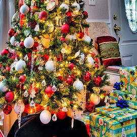 Joy To The World Christmas Tree by Dennis Dame
