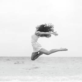 Jumping At The Beach by Srdjana1