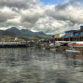 Juneau's Hangar On The Wharf by Ryan Smith