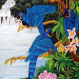 To-Tam Gerwe - Jungle Chats hand embroidery