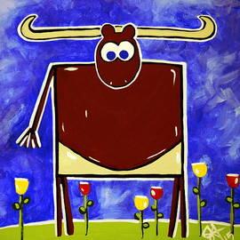 Jackie Carpenter - Just Bull Texas Longhorn