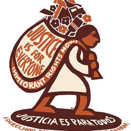 Justice is for Everyone / Justicia es Para Todos by Ricardo Levins Morales