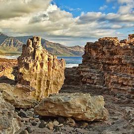 Ka'ena Point Rocky Coast by Marcia Colelli