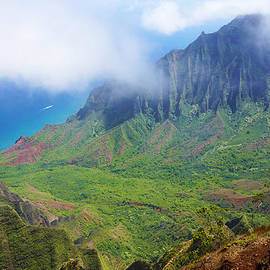 Kalalau Valley Misty by Kevin Smith