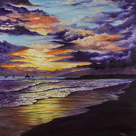 Darice Machel McGuire - Kamehameha Iki Park Sunset