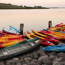 Joe Doherty - Kayaks on the Russian River