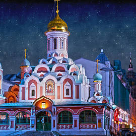 Juli Scalzi - KAZAN CATHEDRAL. Red Square. Moscow Russia