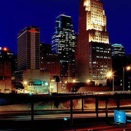 KCPL Kansas City Skyline-1990 by Gary Gingrich Galleries