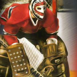 Ken Dryden by Mike Oulton
