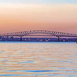Key Bridge - Pano by Brian Wallace