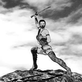 Kiku the Ninja - Sword by Nelson Nieves