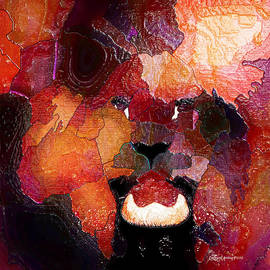 EricaMaxine  Price - KING OF THE JUNGLE-featured in Comfortable Art-FAA Gallery Artists Who Create and Wildlife Groups
