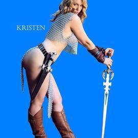 Kirsten Vgirl PinUp by Jon Volden