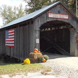 Kissing Bridge at The Vermont Country Store by Catherine Gagne
