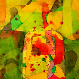 Kitchen Studio Abstract by Nancy Merkle