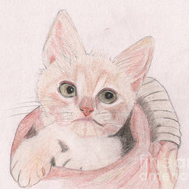Kitten Cuteness by Barefoot Bodeez Art