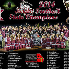 Knights Football 2014 State Champions by David Robinson