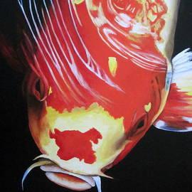 Lillian  Bell - Koi fish painting