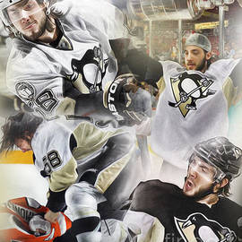 Kris Letang by Mike Oulton