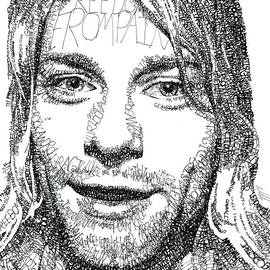 Kurt Cobain by Michael Volpicelli