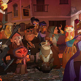 La Calle by Nelson Dedos Garcia